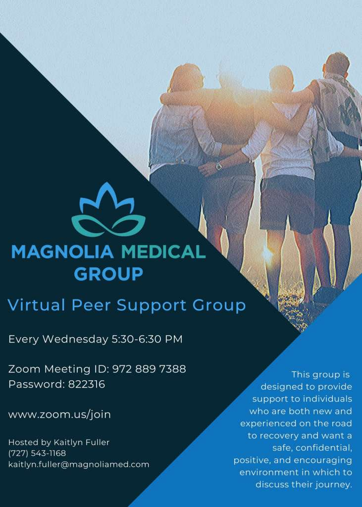 Virtual Support Group Flyer